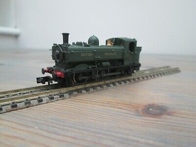 Dapol 2S-007-013 57xx Pannier Tank 9744, BR Green, DCC Fitted, Weathered • 59.99£