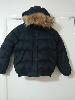Designer Pyrenex Girls Bomber Jacket Coat Age 12 Genuine  • 11.50£
