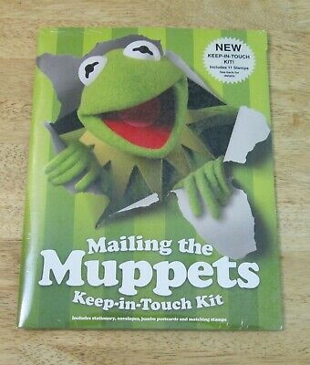 $19.99 • Buy 2005 Jim Henson's Mailing The Muppets - Keep In Touch Mailing Kit NEW SEALED