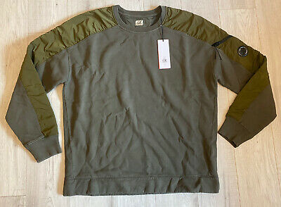 Cp Company 2XL XXL Lens Goggle Crew Neck Jumper Sweater Sweatshirt BNWT NEW Tags • 149.99£