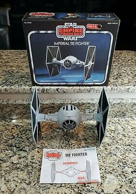 $ CDN126.54 • Buy Imperial Tie Fighter 2010 STAR WARS Vintage Collection COMPLETE Loose Open Box