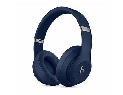 Beats By Dr. Dre Studio3 Wireless Over Ear Headphones Blue - New Sealed • 189.99£