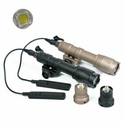 $38.99 • Buy Tactical M600C Scout Light Rifle Flashlight LED Hunting With Tail Switch
