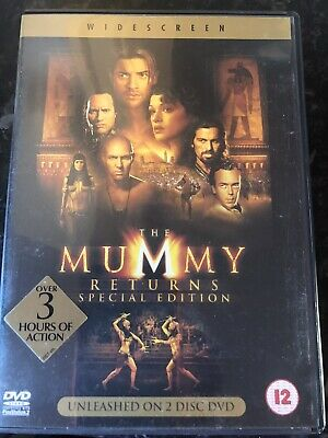 The Mummy Returns Special Edition Dvd • 1£