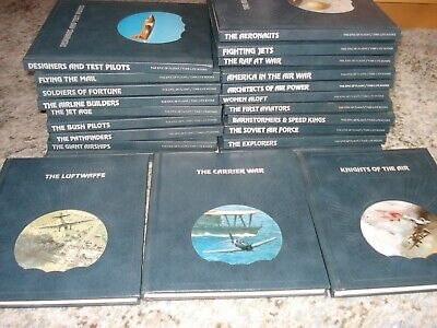 'EPIC OF FLIGHT' - All 23 Volumes Time Life Books  - Great Condition* • 29.99£