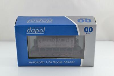 Dapol Sr United Dairies 6 Wheel Milk Tank Wagon Weathered Bnib Ex Shop Stock • 24.99£
