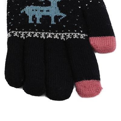 Chrismas Gifts Knitted Gloves Mittens Knitted Glove Women Christmas Mitten • 3.22£