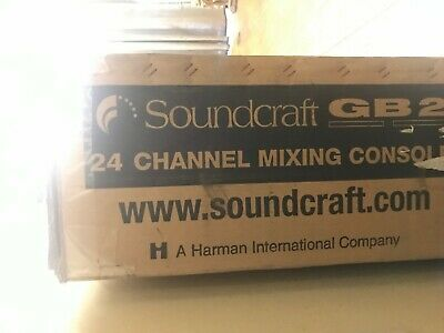 Soundcraft GB2 24 Channel Mixing Console Live Mixer • 2,000£