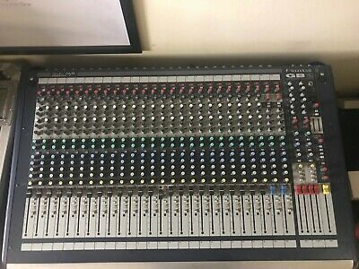 Used Soundcraft GB2 24 Channel Mixing Console Live Mixer • 1,500£