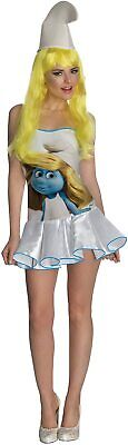 The Smurfs Classic Smurfette Costume - Fancy Dress Halloween Party Adult • 22.42£