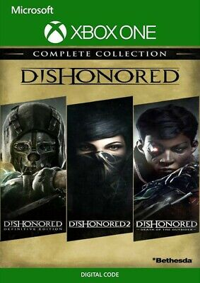 Dishonored Collection No Cd/key Xbox • 4£