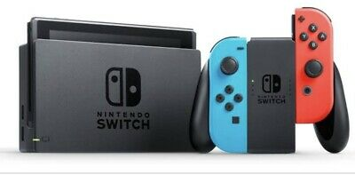 AU305 • Buy Nintendo Switch 32GB Neon Blue/Neon Red Console