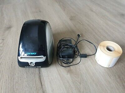 DYMO LABEL WRITER 450 PRINTER Plus Cable, 13354 Labels And 13356 Labels • 36£