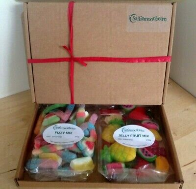 Personalised 300g PICK N MIX Sweet Hamper Selection Gift Box Present Birthday • 5.95£