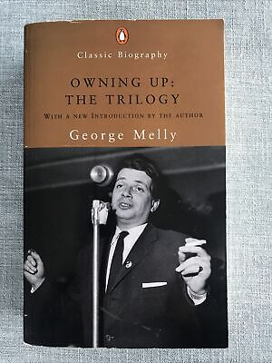 Classic Autobiography: Owning Up: The Trilogy By George Melly Jazz Pb Signed!! • 14.99£