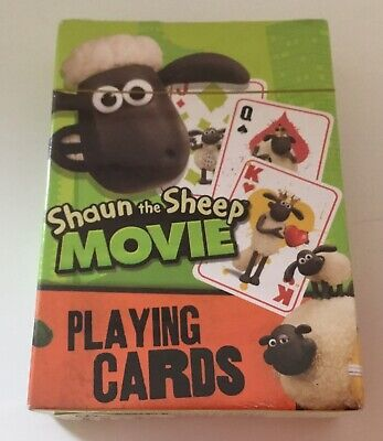 Shaun The Sheep Movie Playing Cards • 1£