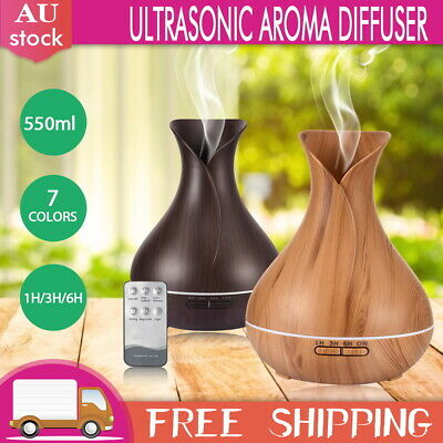 AU31.09 • Buy LED Ultrasonic Aroma Aromatherapy Diffuser Electric Air Humidifier Essential Oil