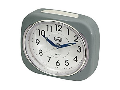Trevi Retro Bedside/Travel Alarm Clock With LED Backlight And Silent Sweep Hand, • 13.11£