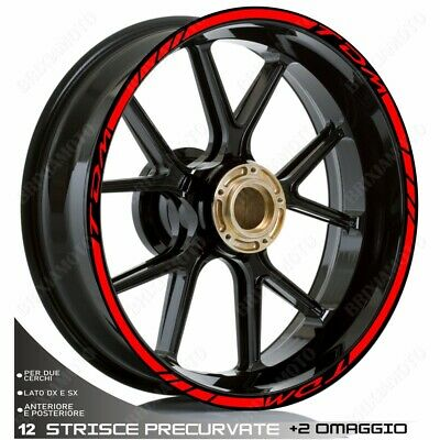 £24.32 • Buy Trims Stickers Sport Wheel Graphic TDM 850 900 Red