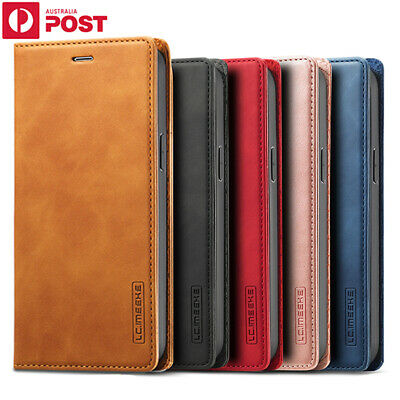 AU16.99 • Buy For IPhone 12 11 Pro Max Mini XR XS Plus Case Magnetic Leather Wallet Card Cover