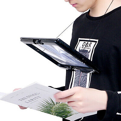 With Light Led Hands Free Magnifying Magnifier Glass Giant Large For Reading Aid • 7.99£