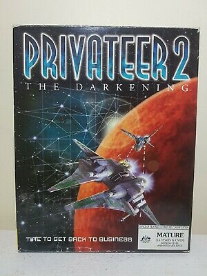 AU50 • Buy Privateer 2 The Darkening. Big Box PC. Origin 1996.