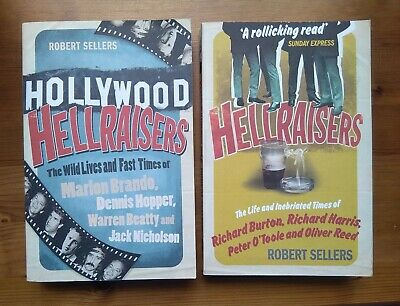 2x Hellraisers Books: The Wild Lives & Fast Times/ The Life & Inebriated Times • 10£