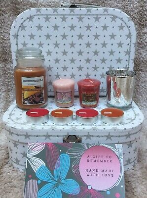 Yankee Candle Gift Hamper Yankee Candle Gift Set Jar Candle/Tea Lights/Votives • 15.99£