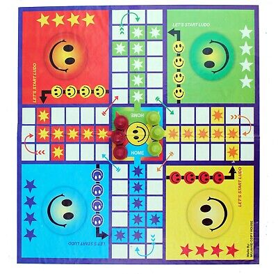 Giant Snakes & Ladders Ludo Traditional Travel Family Board Game Indoor Outdoor • 5.99£