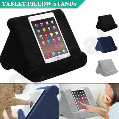 AU14.95 • Buy Tablet Pillow Stands For IPad Phone Book Reader Holder Laps Reading Cushion Pad