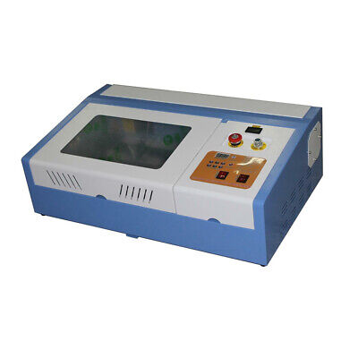 CO2 Laser Engraver Cutter 40W Engraving Cutting Machine LCD Display 300x200 MM • 329.99£