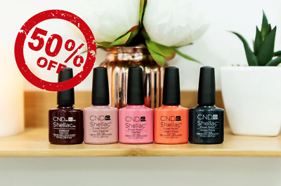 CND Shellac UV Gel Nail Polish Nail Varnish Duraforce Xpress5 Top Base Coat New • 6.99£