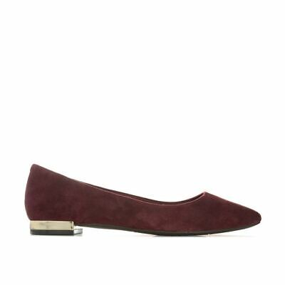 Women's Rockport Total Motion Adelyn Slip On Ballet Shoes In Red • 16.94£