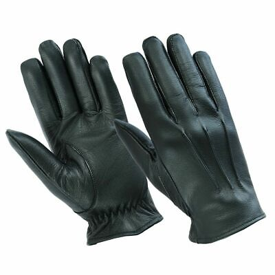 Mens Driving Gloves Unlined Top Quality Soft Genuine Real Leather Goatskin Uk • 9.99£