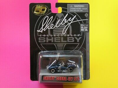 SHELBY COLLECTIBLES, 1:64 Scale SHELBY COBRA 427 S/C, OPENING PARTS, SEALED CARD • 14.90£