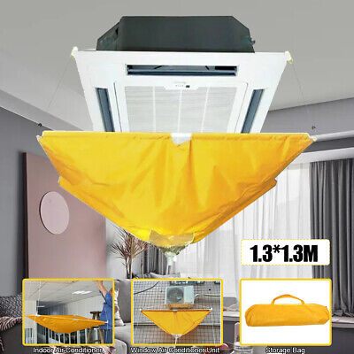 AU47.49 • Buy AU Air Conditioner Cover Cleaning Washing Bag Waterproof Clean Protector T