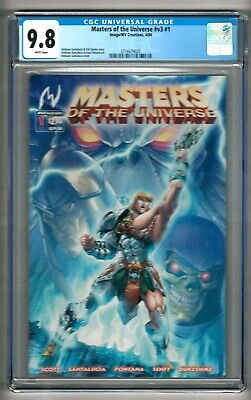 $399.99 • Buy Masters Of The Universe #v3 #1 (2004) CGC 9.8  White Pages Highest-1st In Census