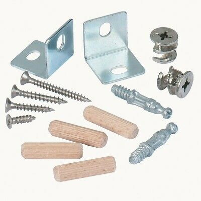 Cam Locks & Cam Dowels Flat Packed Furniture Screws Bolts Spares (more Available • 2.90£