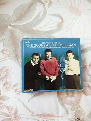 The Very Best Of The Goons & Spike Milligan - 3CD Box Set • 0.99£