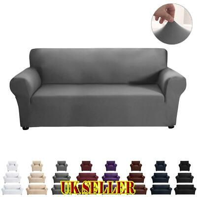 UK 1/2/3 Sofa Covers Stretch Couch Cushion Slipcover Settee Protector Home Decor • 17.09£