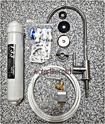 £24 • Buy Undersink Drinking Water Filter Kit System Including Faucet And Accessories New