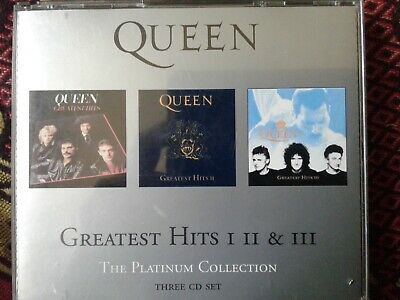 Queen Greatest Hits I Ii & Iii The Platinum Collection  (2000) 3×cd Parlaphone • 7.99£