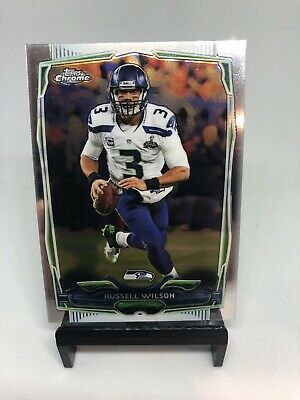 $ CDN6.59 • Buy Russell Wilson Topps Chrome Dontuss Elite Refractor Lot Non Auto