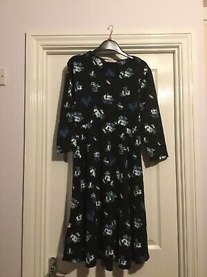 Maternity Bundle Dress And Tights Red Herring Size 14 • 2.99£