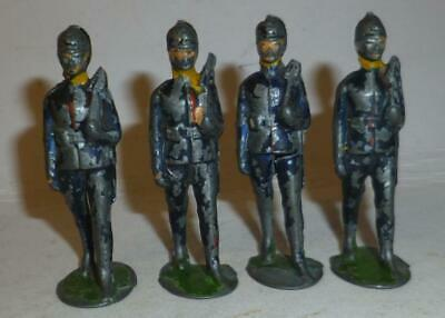 Four Antique Wellington Toy Company Vintage Lead Soldiers From Around 1916 • 4.99£