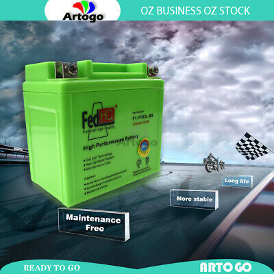 AU52.29 • Buy MOTORCYCLE GEL BATTERY YTX5L-BS 12V 5Ah FIT Kymco 90cc Mongoose 90 All Years