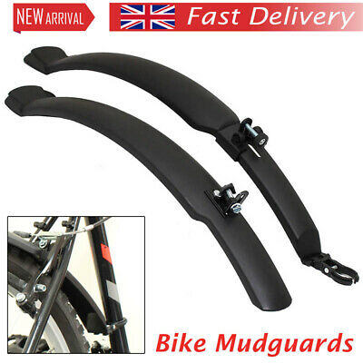 "Cycling Fender 26"" Mudguards Front & Rear Mountain Bike/bicycle Mud Guards Set • 7.99£"