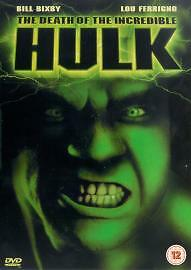 The Death Of The Incredible Hulk DVD (2003) Bill Bixby Cert 12 Amazing Value • 1£