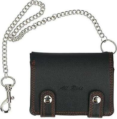 Biker Wallet With Chain Motorbike Cycle Faux Leather Safety Security All Ride  • 12.03£