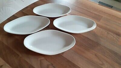 4 X VINTAGE SAMPSON BRIDGWOOD & SONS LTD SIDE/STARTER DISHES - VGC • 12.50£